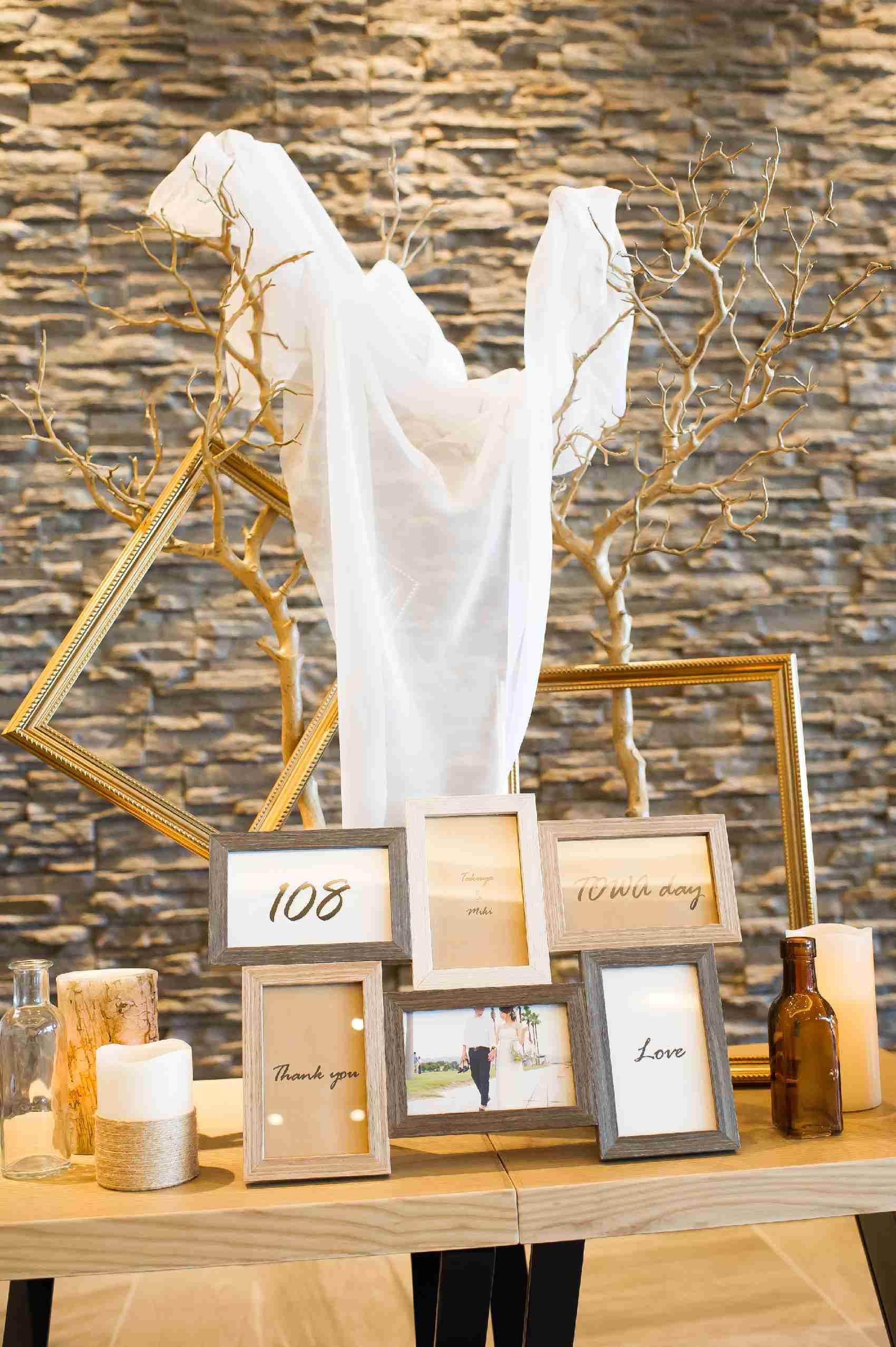 香川県高松市の結婚式場アナザースタイルの手作りのウエディングアイテム