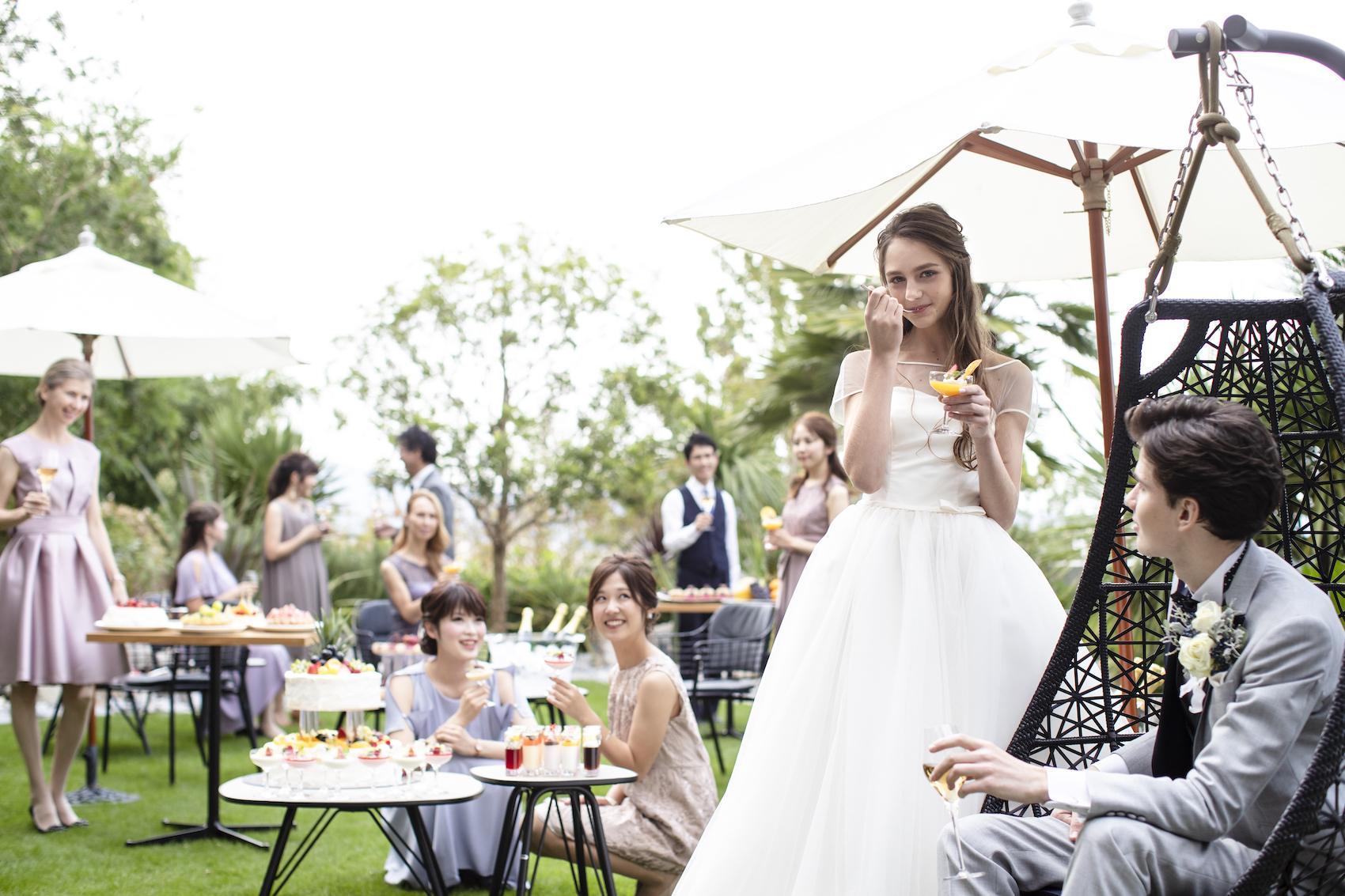 香川県高松市の結婚式場アナザースタイルでスイーツビュッフェ