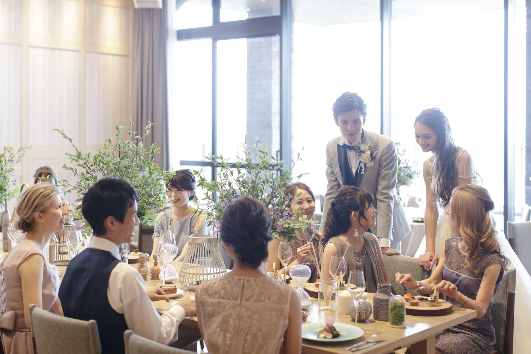 香川県高松市の結婚式場アナザースタイルのカジュアルウエディング
