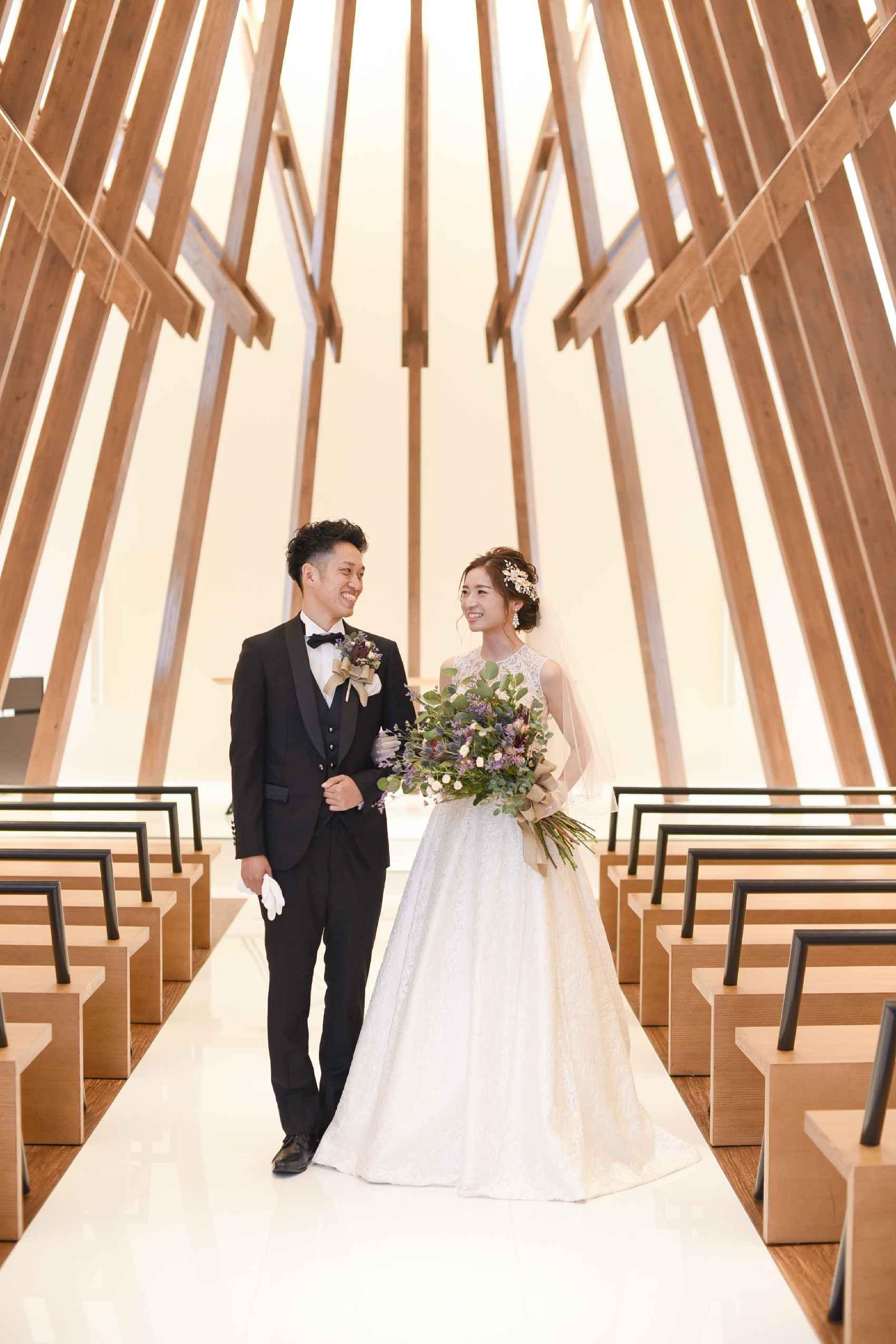 香川県高松市の結婚式場アナザースタイルの挙式前に撮影