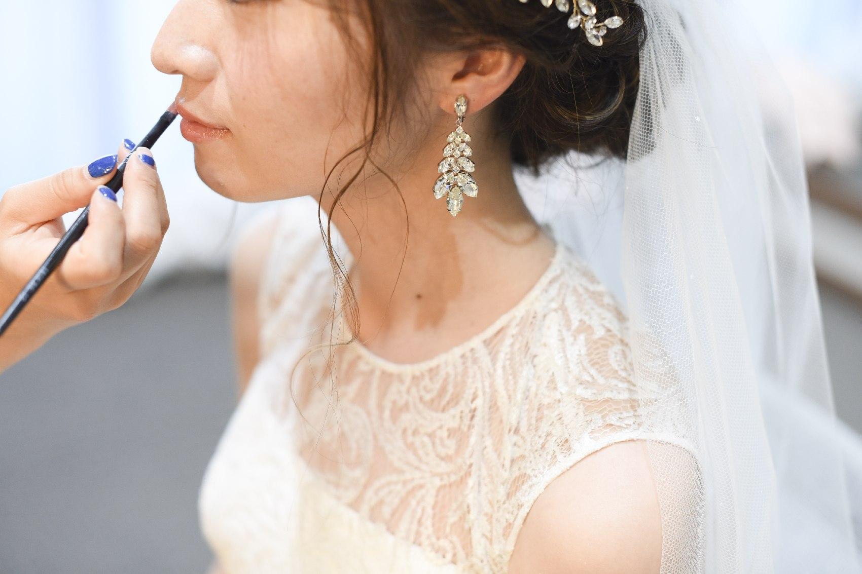 香川県高松市の結婚式場アナザースタイルの結婚式のメイク