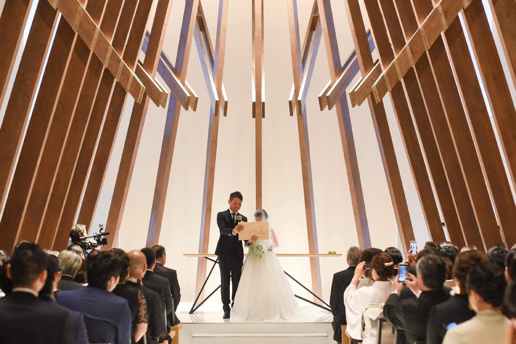 香川県高松市の結婚式場アナザースタイルの挙式での誓いの言葉
