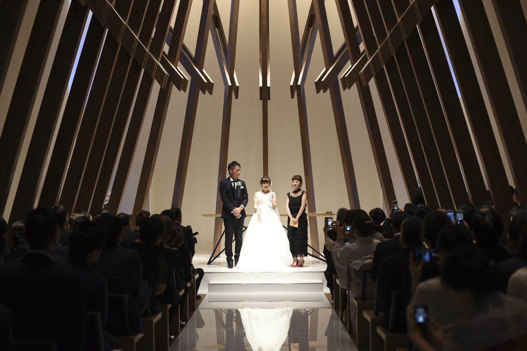 香川県高松市の結婚式場アナザースタイルの挙式の演出