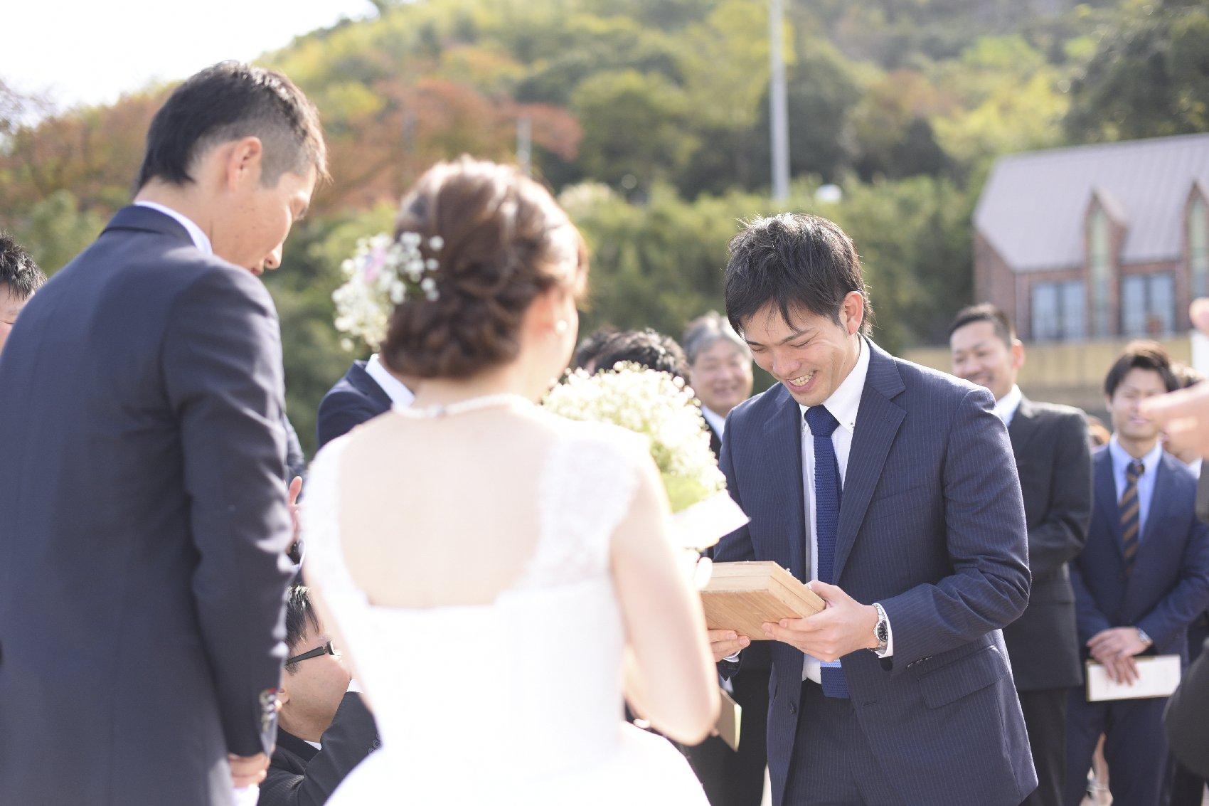 香川県高松市の結婚式場アナザースタイルのアフターセレモニーの演出