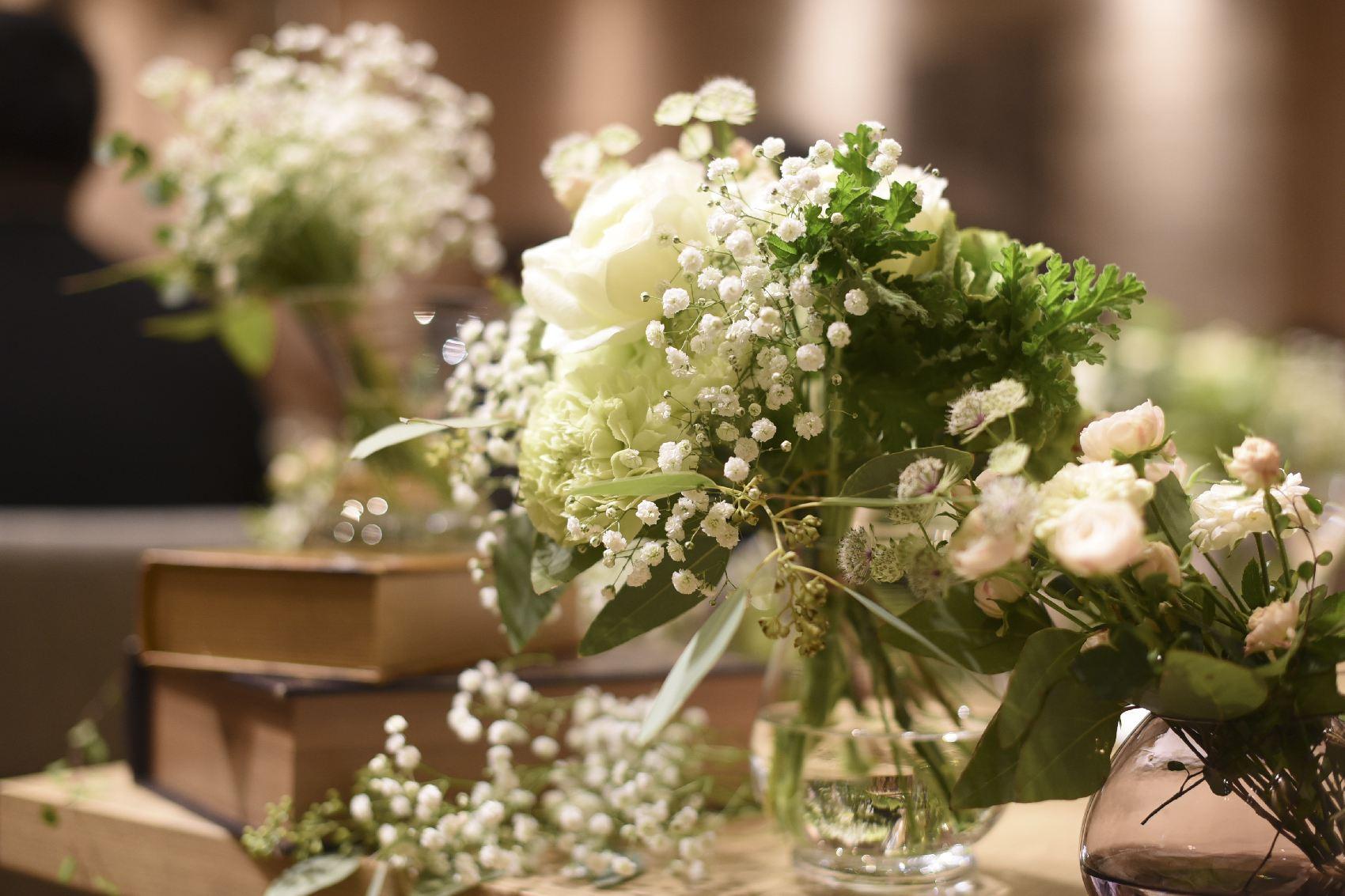 香川県高松市の結婚式場アナザースタイルのテーブルコーディネート