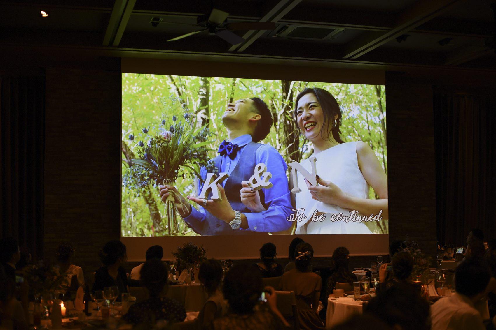 香川県高松市の結婚式場アナザースタイルの結婚式のムービー