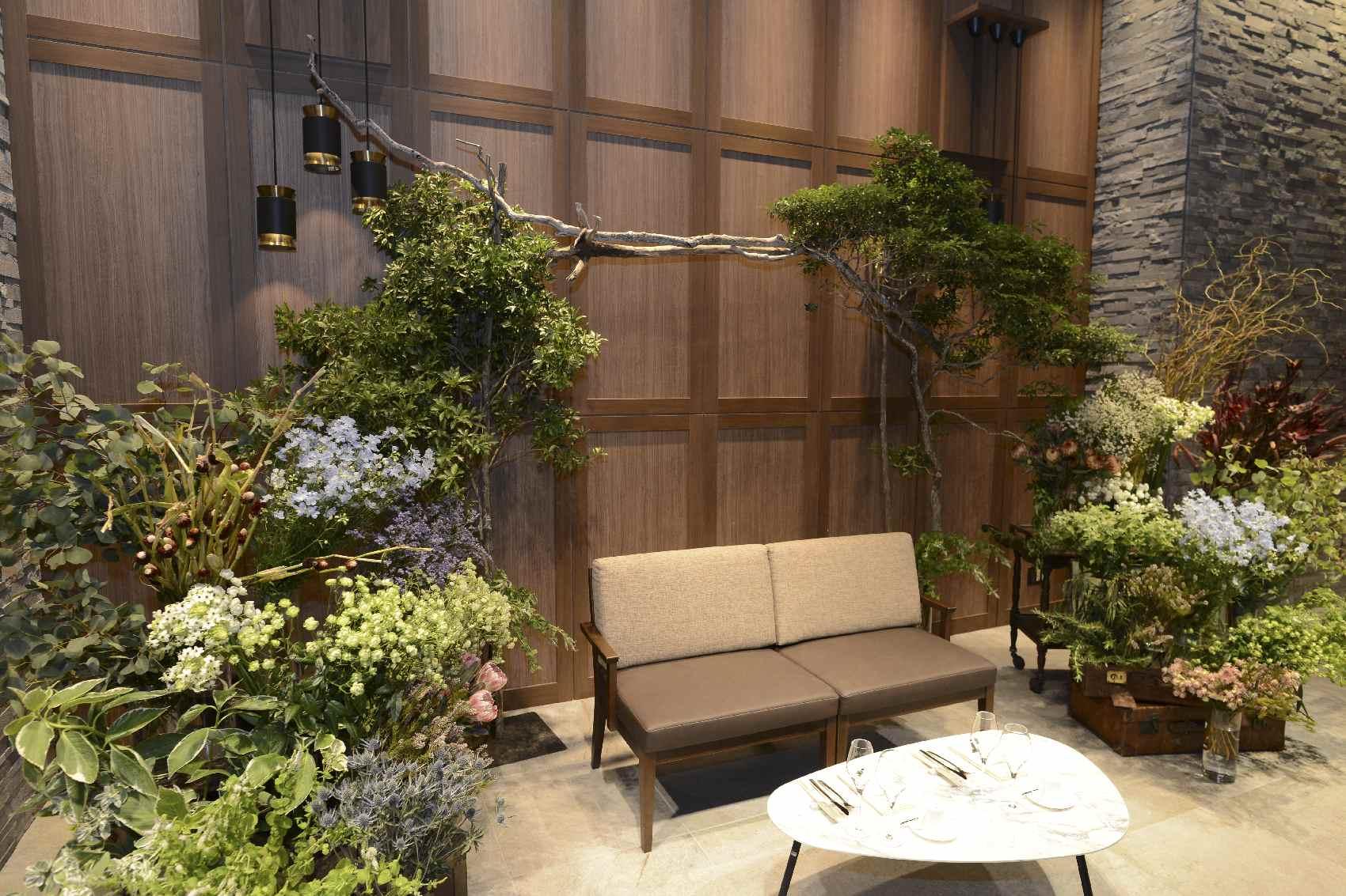 香川県高松市の結婚式場アナザースタイルの結婚式での高砂ソファー