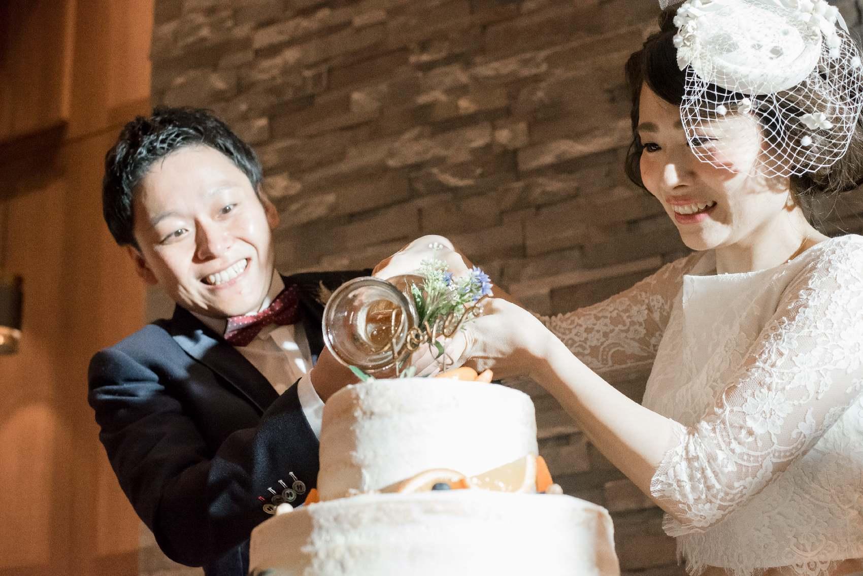 香川県高松市の結婚式場アナザースタイルのファーストバイト