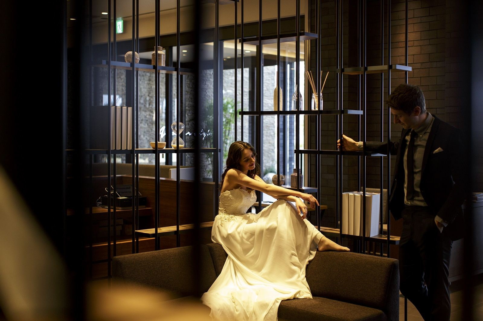 香川県高松市の結婚式場アナザースタイルの打ち合わせルーム