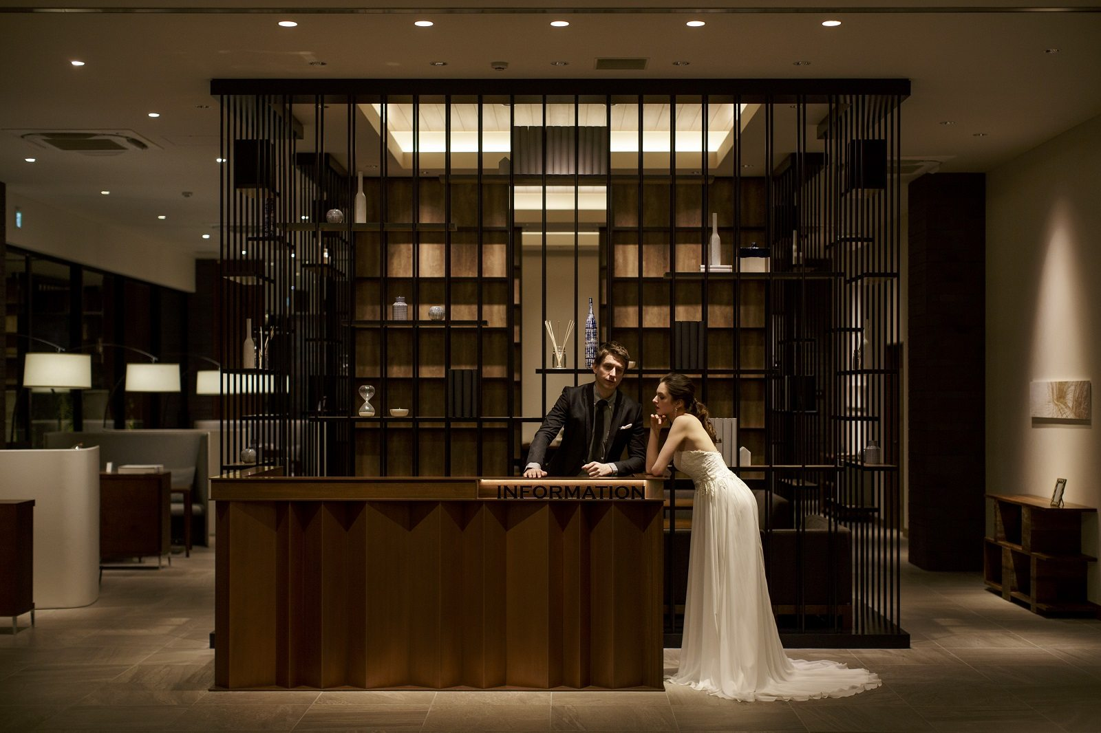 香川県高松市の結婚式場アナザースタイルのロビー写真