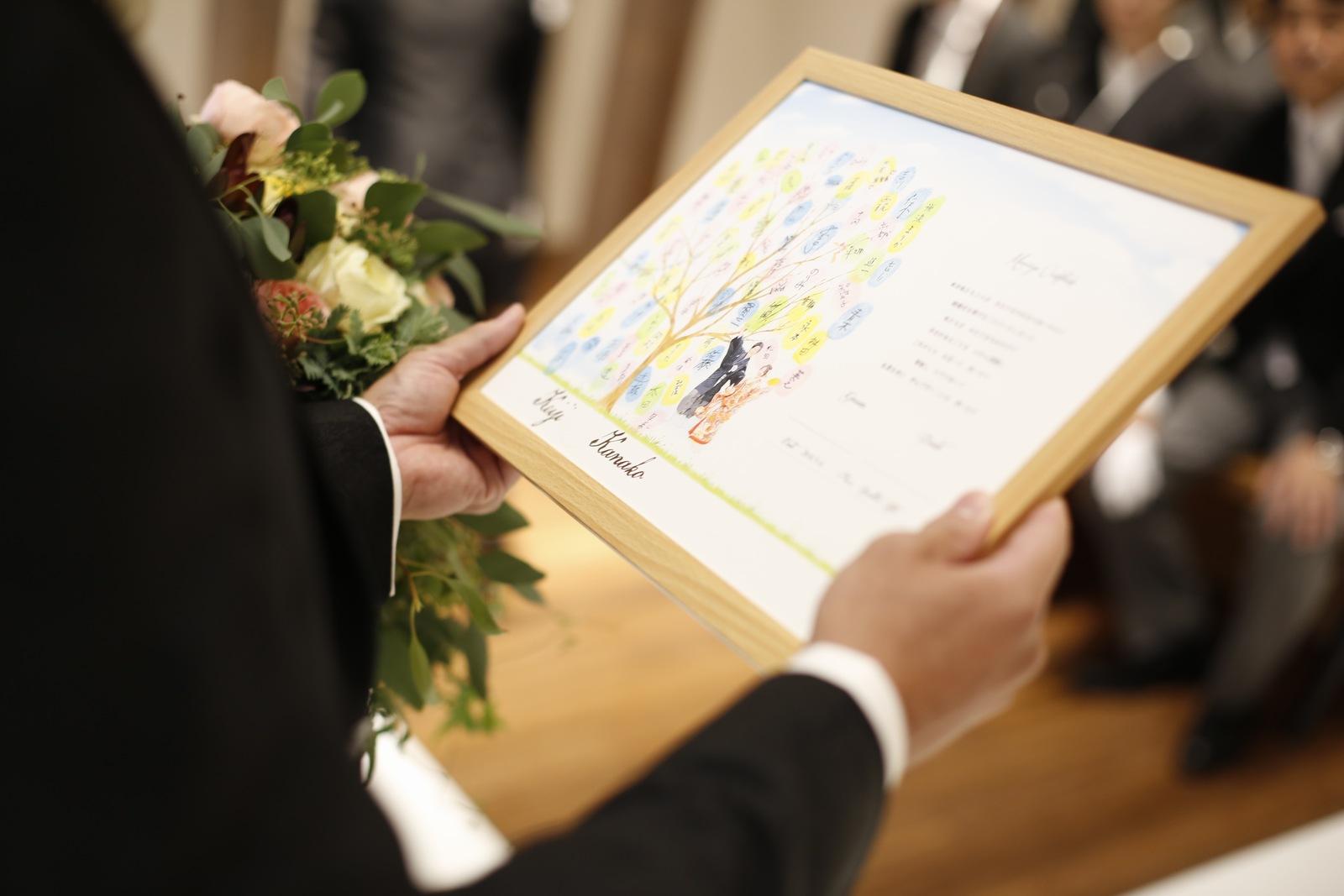 香川県高松市の結婚式場アナザースタイルのウエディングツリー