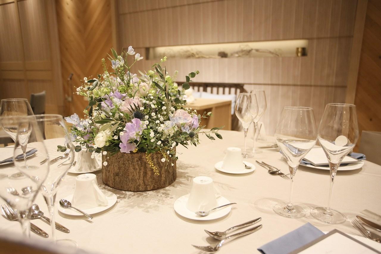 香川県高松市の結婚式場アナザースタイルのナチュラルコーディネート