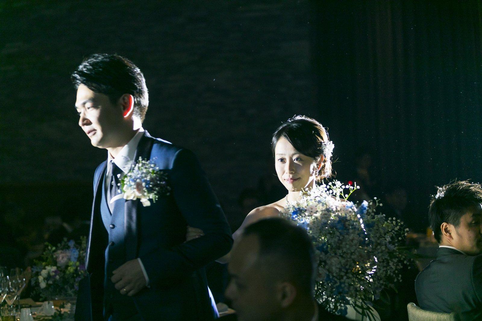 高松市の結婚式場アナザースタイルの披露宴会場