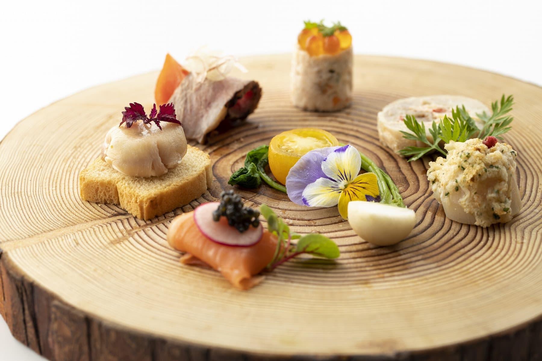 香川県高松市の結婚式場アナザースタイルの料理
