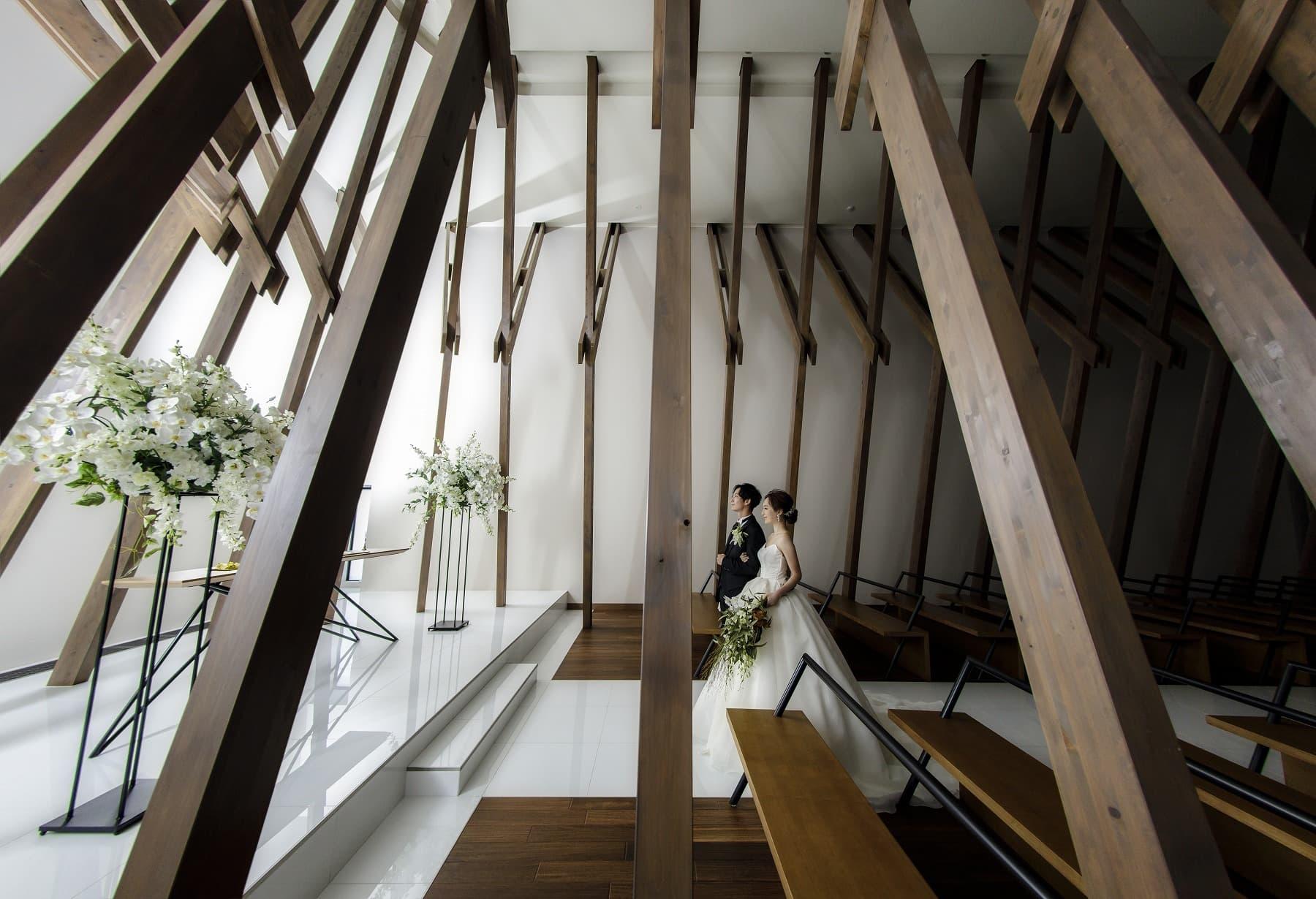 香川県高松市の結婚式場アナザースタイルのチャペル