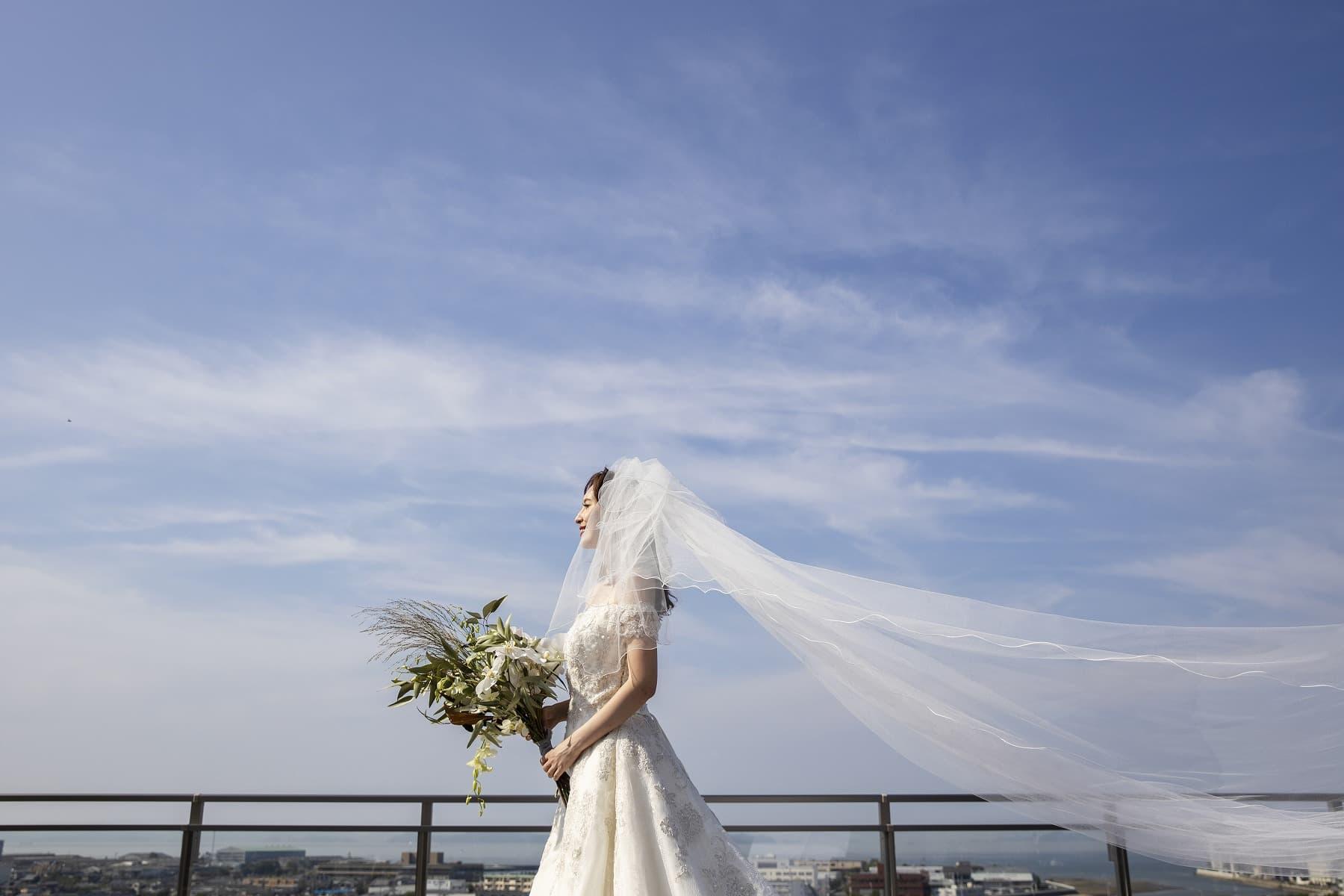 香川県高松市の結婚式場アナザースタイルのテラス